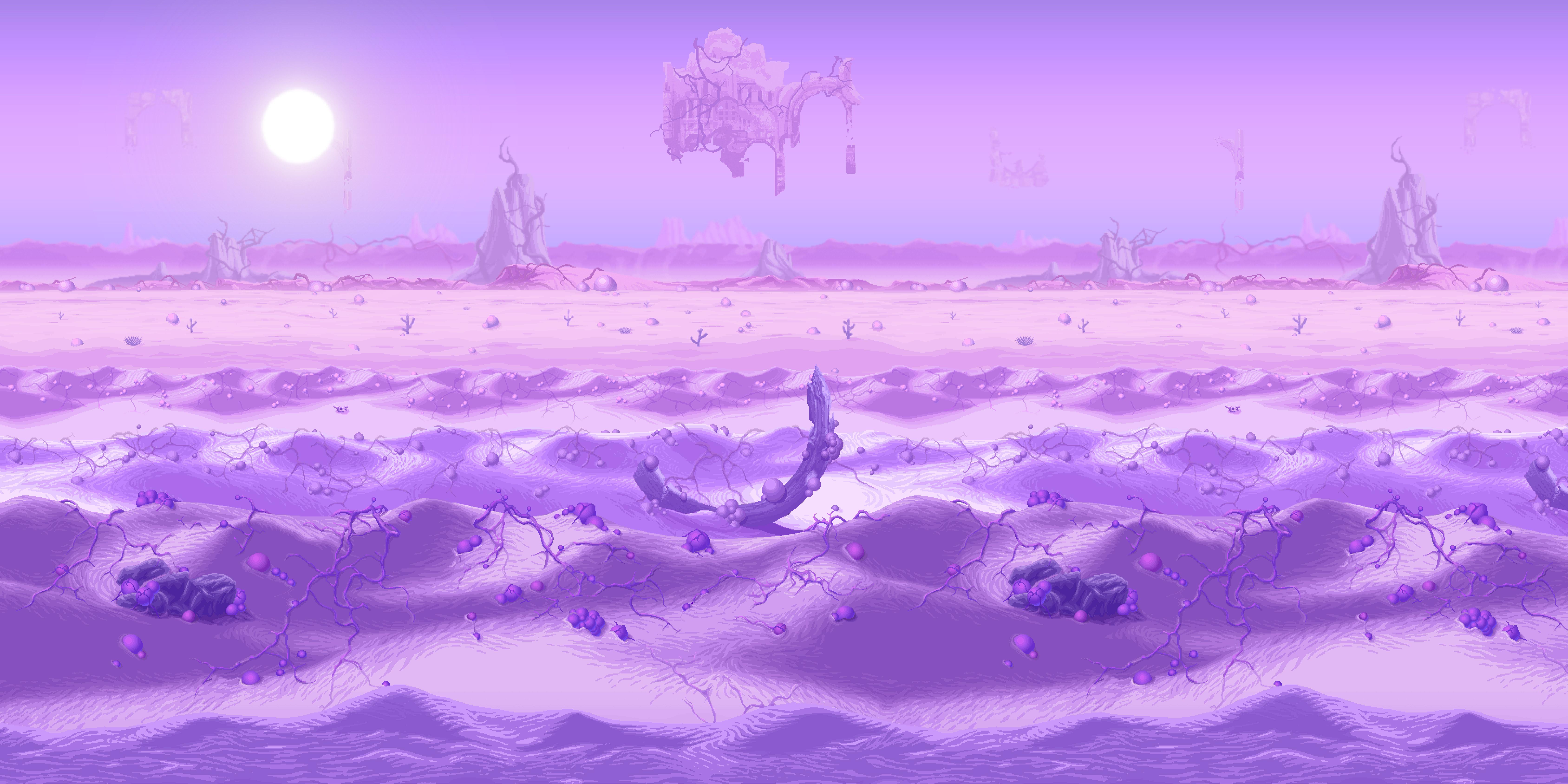 Terraria Otherworld Infection Desert