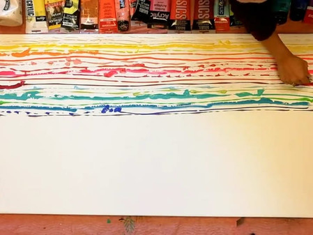 Learn the magic of mixing paints.