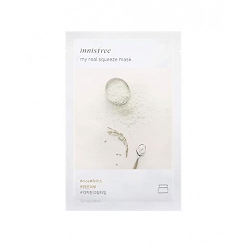 INNISFREE - My Real Squeeze Mask - Riz