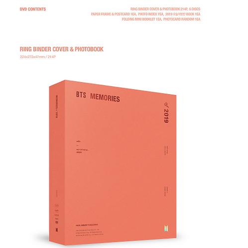 BTS DVD - MEMORIES OF 2019 + Weverse darilo