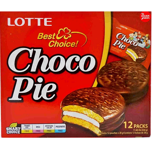 LOTTE 초코파이 čokoladne tortice 12 kosov