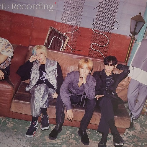 ONEWE - STUDIO WE : RECORDING OFFICIAL POSTER