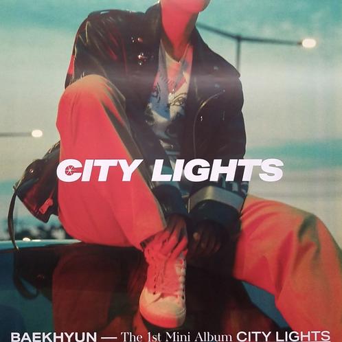 BAEKHYUN - CITY LIGHTS OFFICIAL POSTER
