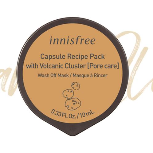 INNISFREE CAPSULE RECIPE PACK (VOLCANIC CLUSTER) 10ML