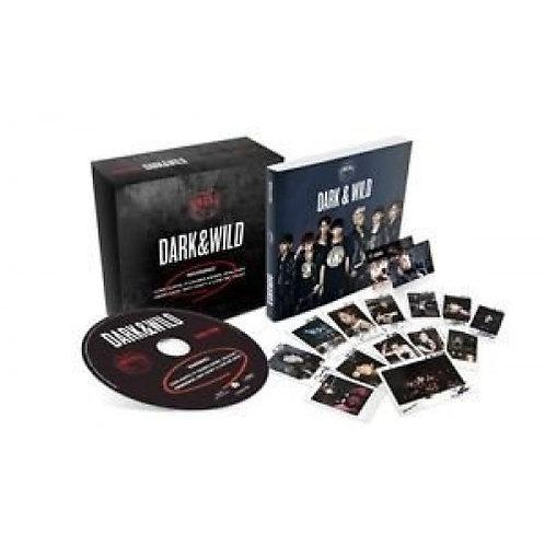 BTS - DARK & WILD + PHOTO CARD + PHOTO BOOK