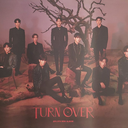 SF9 - TURN OVER OFFICIAL POSTER