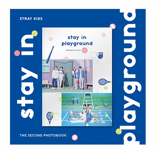 STRAY KIDS - 2ND PHOTOBOOK [STAY IN PLAYGROUND] DVD