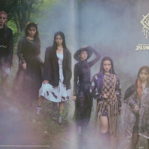 DREAMCATCHER -DYSTOPIA : LOSE MYSELF OFFICIAL POSTER