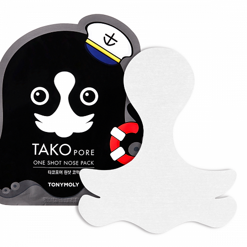 TONY MOLY - TAKOPORE ONE SHOT NOSE PACK