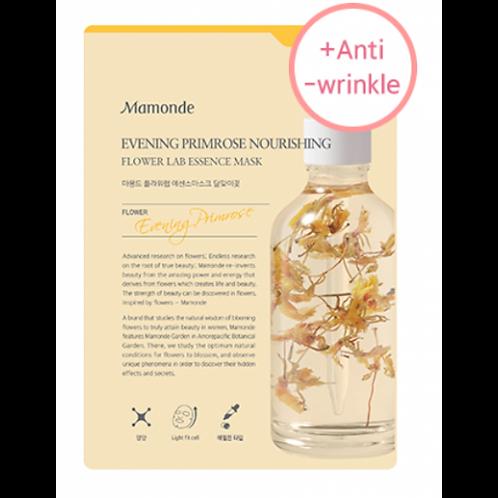 MAMONDE - Flower Lab Maska za obraz - večerni jeglič hranljiva in anti wrinkle