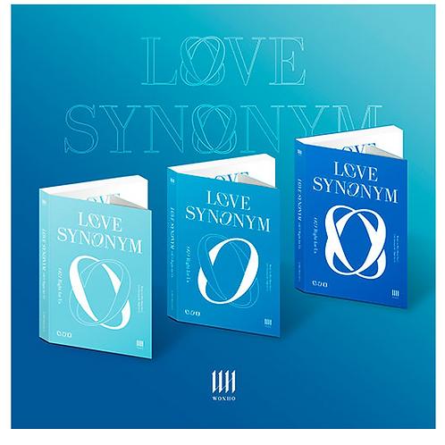 WONHO - LOVE SYNONYM #2: RIGHT FOR US