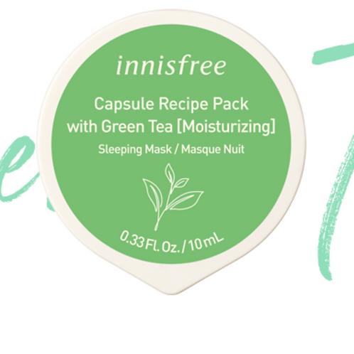 INNISFREE CAPSULE RECIPE PACK (GREEN TEA) 10ML