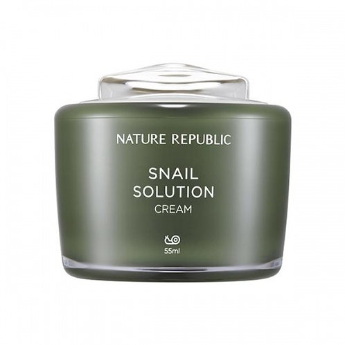 NATURE REPUBLIC - SNAIL SOLUTION POLŽJA KREMA ZA OBRAZ 55ML