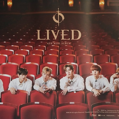 ONEUS - LIVED OFFICIAL POSTER