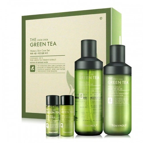 TONY MOLY  - MONSTA X CHOK CHOK GREEN TEA Set