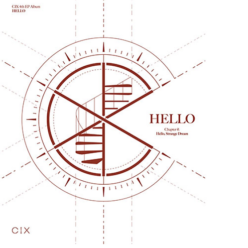 CIX CD - HELLO CHAPTER Ø. HELLO, STRANGE DREAM