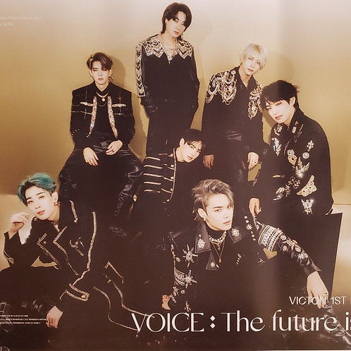 VICTON - VOICE : THE FUTURE IS NOW OFFICIAL POSTER