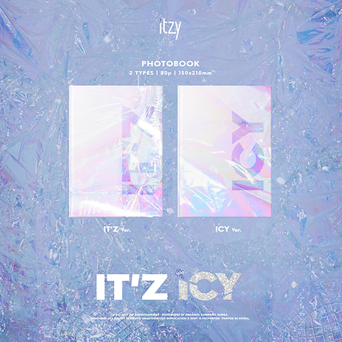 CD ITZY - IT'Z ICY