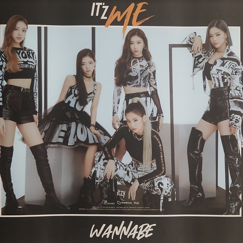 ITZY - IT'Z ME OFFICIAL POSTER