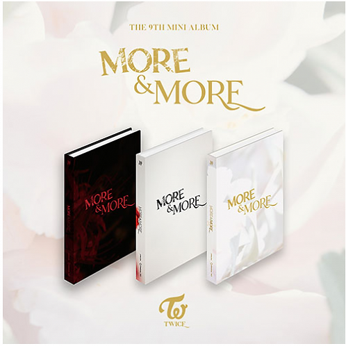 TWICE - MORE AND MORE (s pre-order benefits)