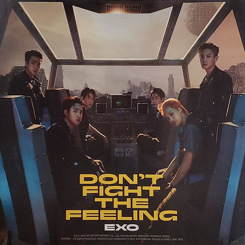 EXO - DON'T FIGHT THE FEELING (PHOTOBOOK VER 2) OFFICIAL POSTER