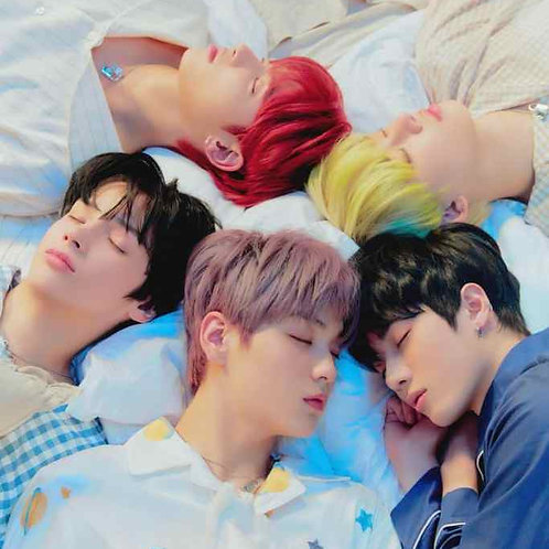 TXT 1ST ALBUM THE DREAM CHAPTER : ETERNITY OFFICIAL POSTER