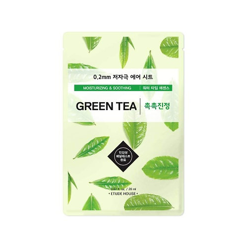 ETUDE HOUSE - 0.2 THERAPY AIR GREEN TEA MASKA ZA OBRAZ