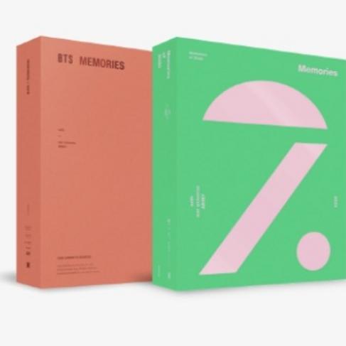 BTS - MEMORIES OF 2020 DVD + MEMORIES OF 2019