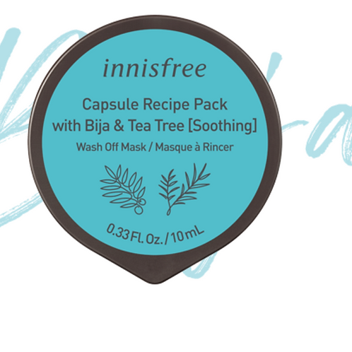 INNISFREE CAPSULE RECIPE PACK (BIJA & TEA TREE) 10ML