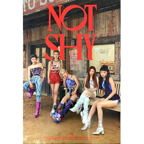 ITZY ALBUM NOT SHY OFFICIAL POSTER