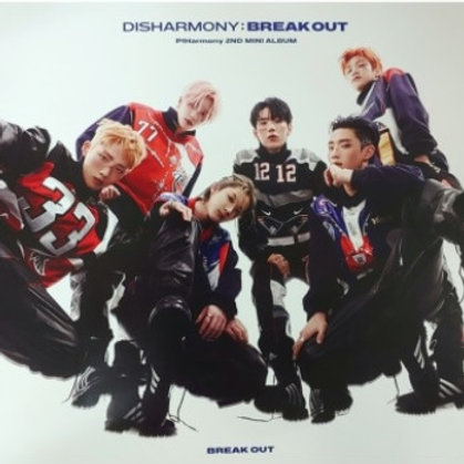 P1HARMONY  - DISHARMONY : BREAK OUT OFFICIAL POSTER