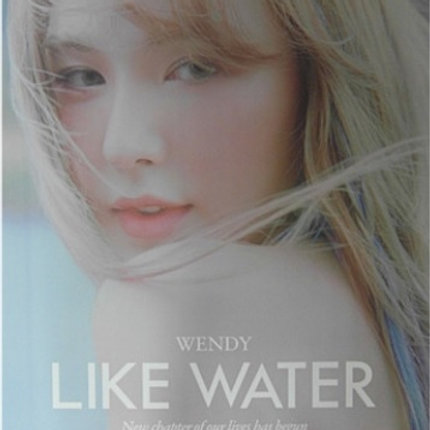 WENDY  - LIKE WATER OFFICIAL POSTER