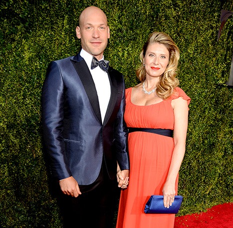 Corey stoll with wife Nadia Bowers