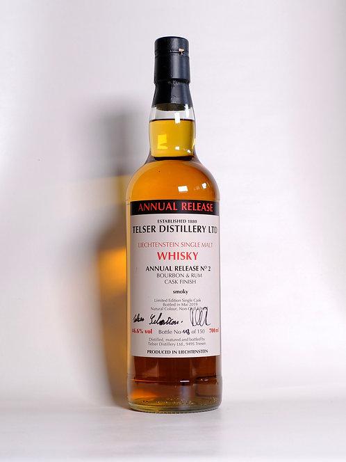 Liechtenstein Whisky Annual Release No. 2