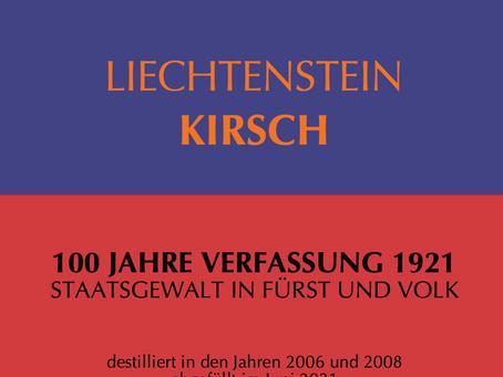 Jubiläumsedition 100 Jahre Verfassung 1921