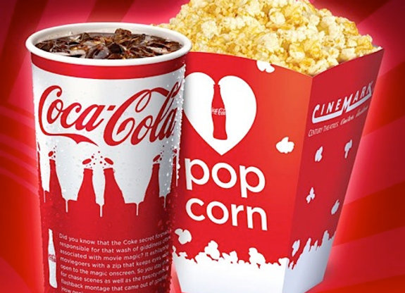 Medium popcorn and drink combo