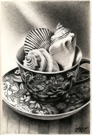 Teacup with Shells