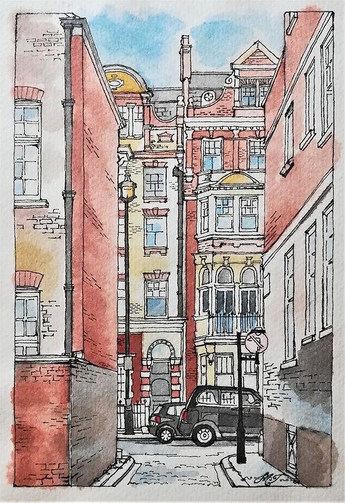 Fitzrovia, London