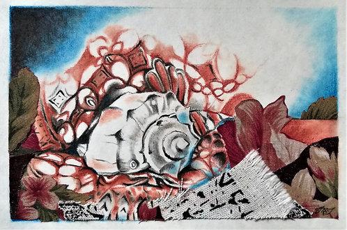 Shell with Batik