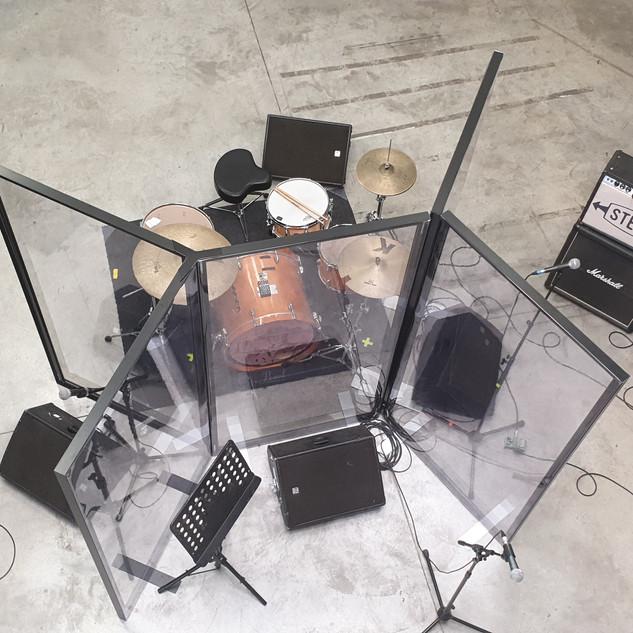 protection salle de musique