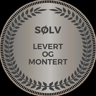 SØLV SERVICE - LEVERT OG MONTERT