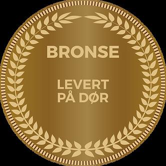 BRONSE SERVICE - PRODUKT LEVERT PÅ DØR