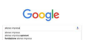 Ricerca predittiva Google