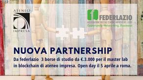 Nuova Partnership Ateneo Impresa - Federlazio