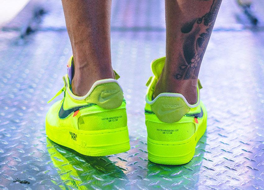 Mejorar Sastre Semejanza  Off-white x Nike Air Force 1 Volt 2.0 - Verde Limão | Ax Sports Store
