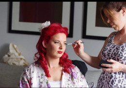Vintage hair and make-up package