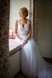 Classic bridal hair