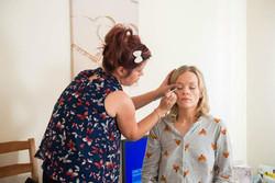Make-up application by Glowstylist