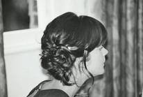 Bridsmaid hair up