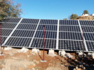 Happy New Year for Mohamed's family in Morocco - Solar Panels!
